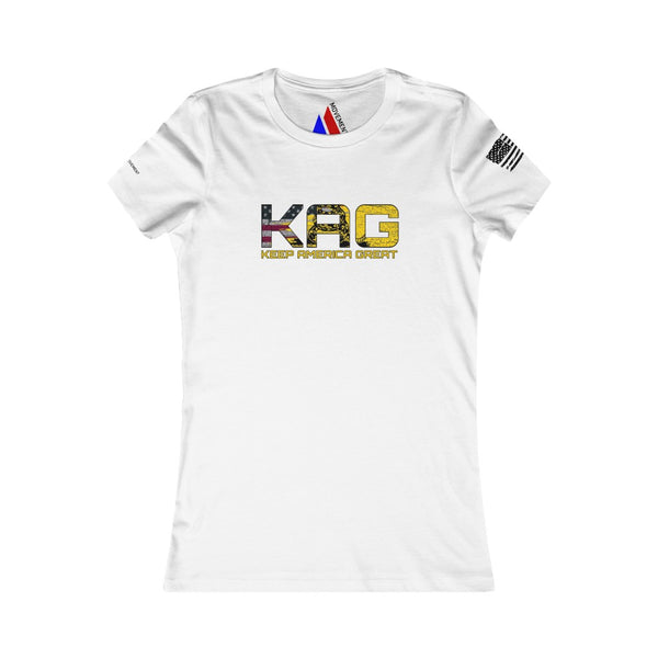 Women's KAG Don't Tread On Me Tee