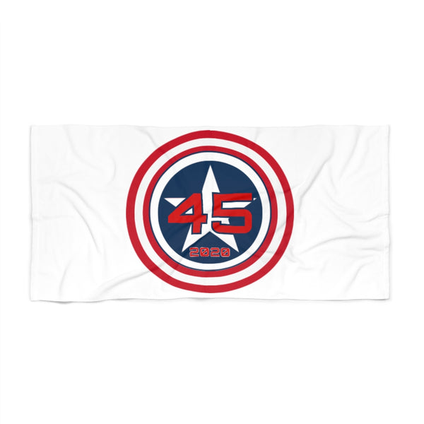 45 Shield Beach Towel