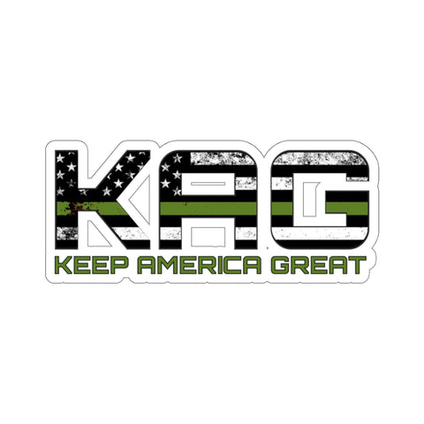 KAG Green Line Sticker