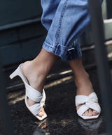 Charlotte Off-White Mule - Paula Torres