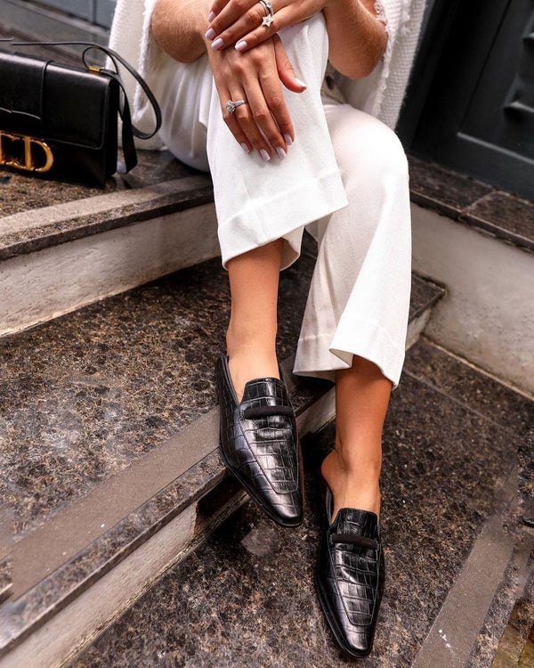 Leona Black Loafer - Paula Torres
