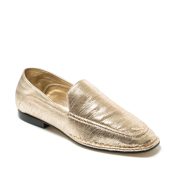 Madrid Gold Loafer