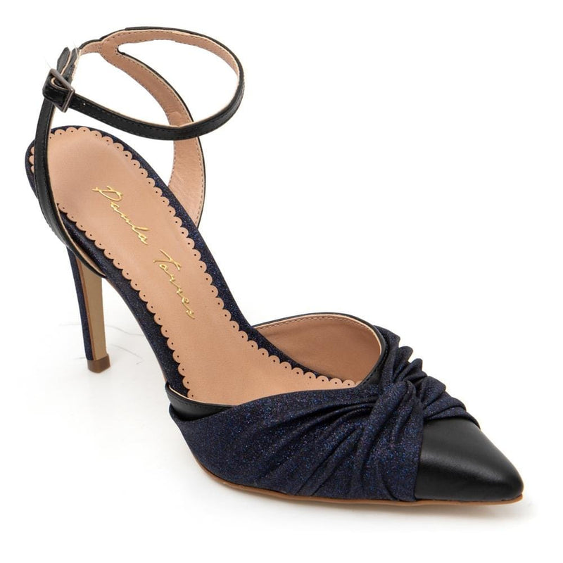 Eclipse Dark Blue Pump - Paula Torres