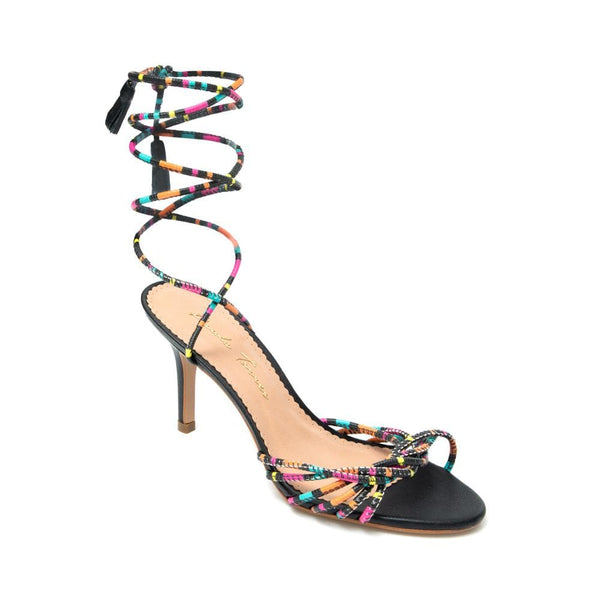 Colors Off Black Sandal - Paula Torres