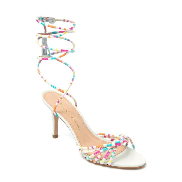 Colors Off White Sandal - Paula Torres