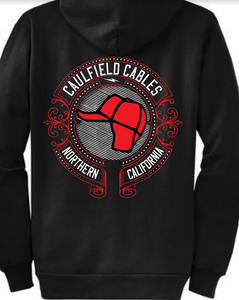 Caulfield Cables Logo Hoodie