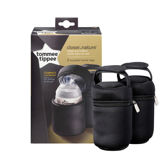 Tommee Tippee Closer To Nature Insulated Bottle Carrier 2 Pk