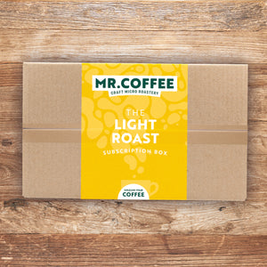 Light Roast Coffee Subscription Box - 6 Month Gift