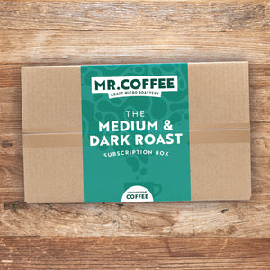Medium & Dark Roast Roast Coffee Subscription Box - 6 Month Gift