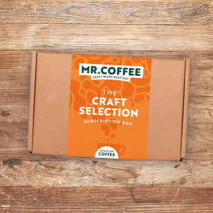 Microroastery Craft Coffee Selection Box - 6 Month Gift