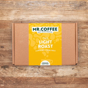 Light Roast Coffee Subscription Box - 3 Month Gift