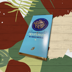 Willies Cacao - Sea Flakes Chocolate Bar 26gr