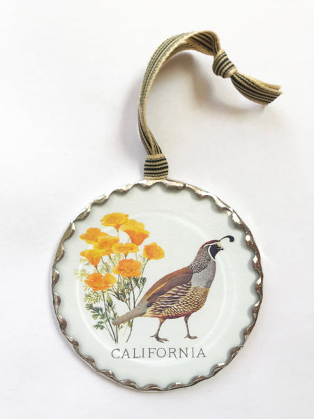 California State Bird & Flower