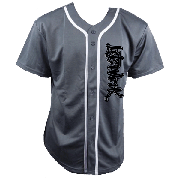 Lets Work Baseball Jersey