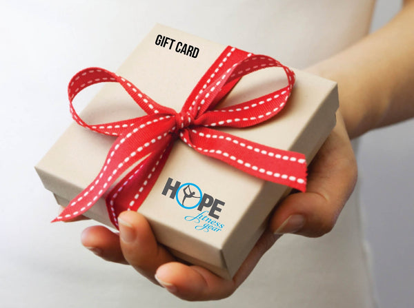 Hope Fitness Gear Gift Card