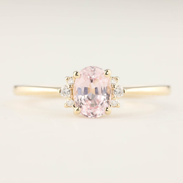 Lena Ring -1.16ct Pink Sapphire (One of a kind)