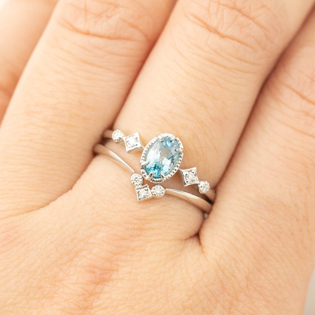 Stella Ring - Blue Topaz