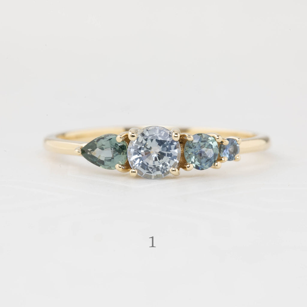 Grace Ring - Rose Cut Diamond