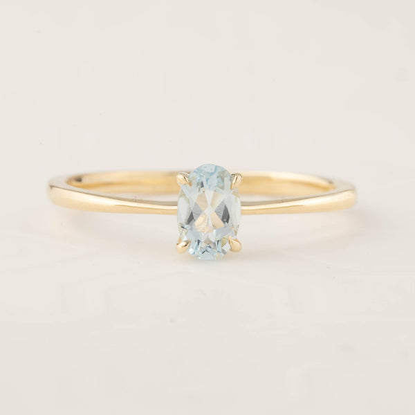 Nina Ring - Aquamarine