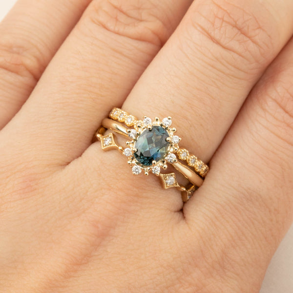 Victoria Ring - 0.97ct Montana Sapphire (One of a kind)