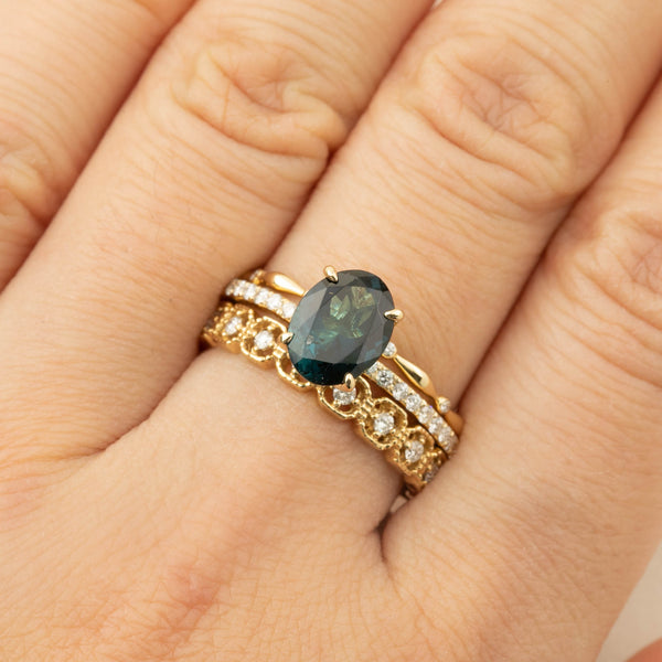 Maria Ring -  1.64ct Green Tourmaline (One of a kind)