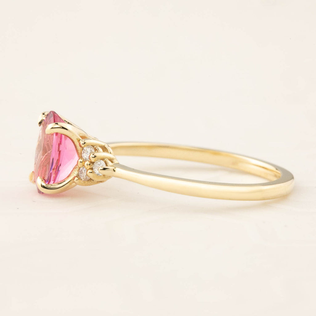 Teresa Ring - 1.13ct Pink Tourmaline (One of a kind)