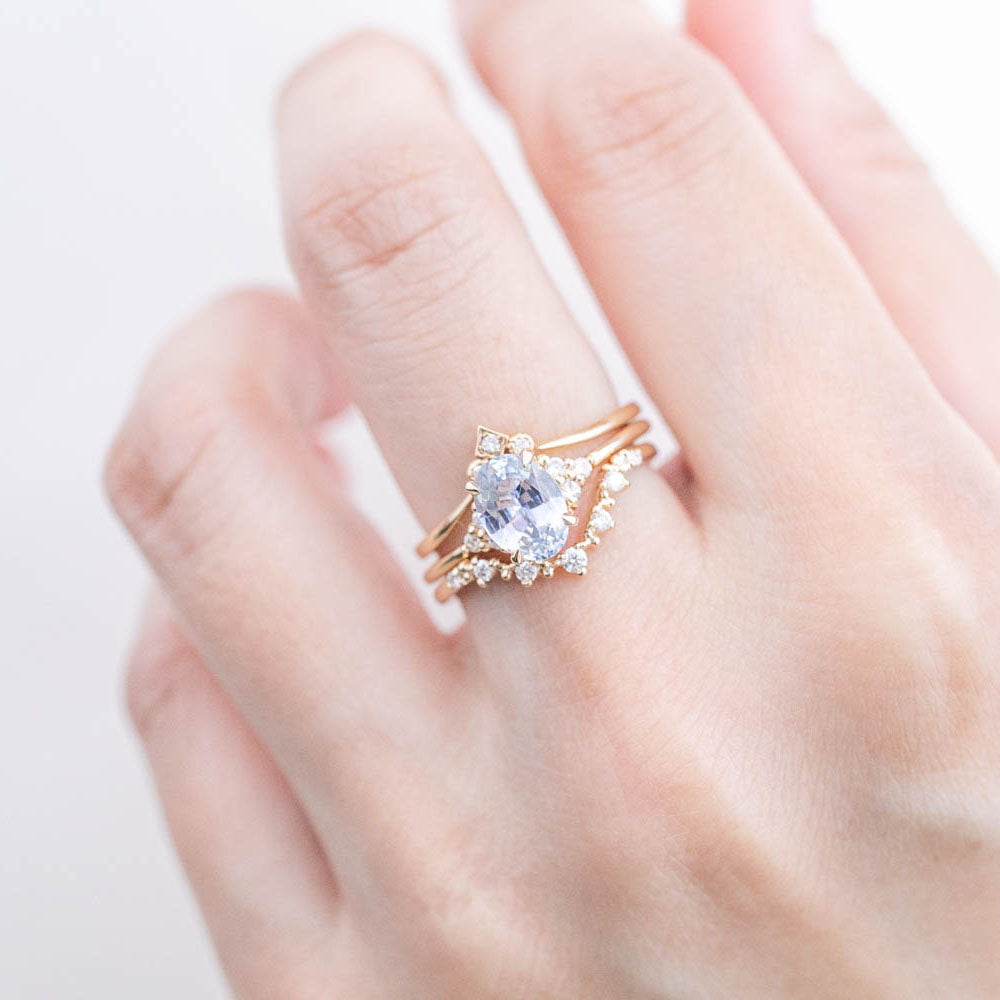 Teresa Ring - 1.54ct Ceylon Blue Sapphire (One of a kind)