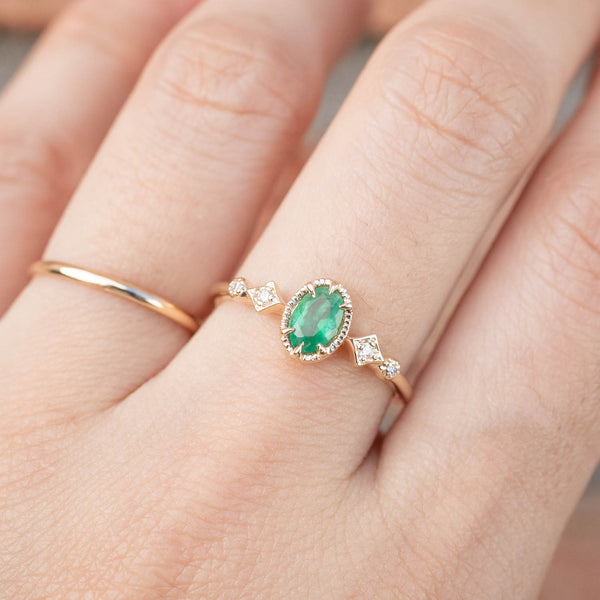 Stella Ring - Emerald