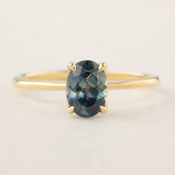 Sara Ring - 1.32ct Blue Montana Sapphire (One of a kind)