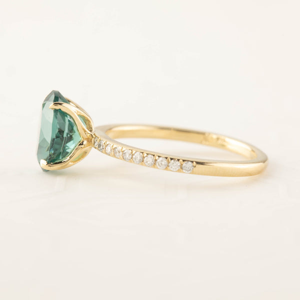 Maria Ring -  2.47ct Green Tourmaline (One of a kind)