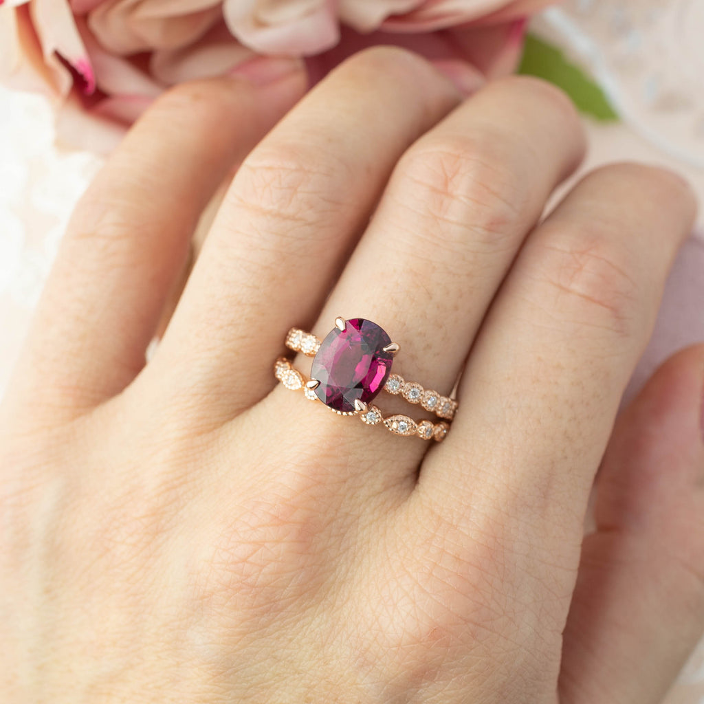 Amelie Ring - 2.56ct Rubellite Tourmaline