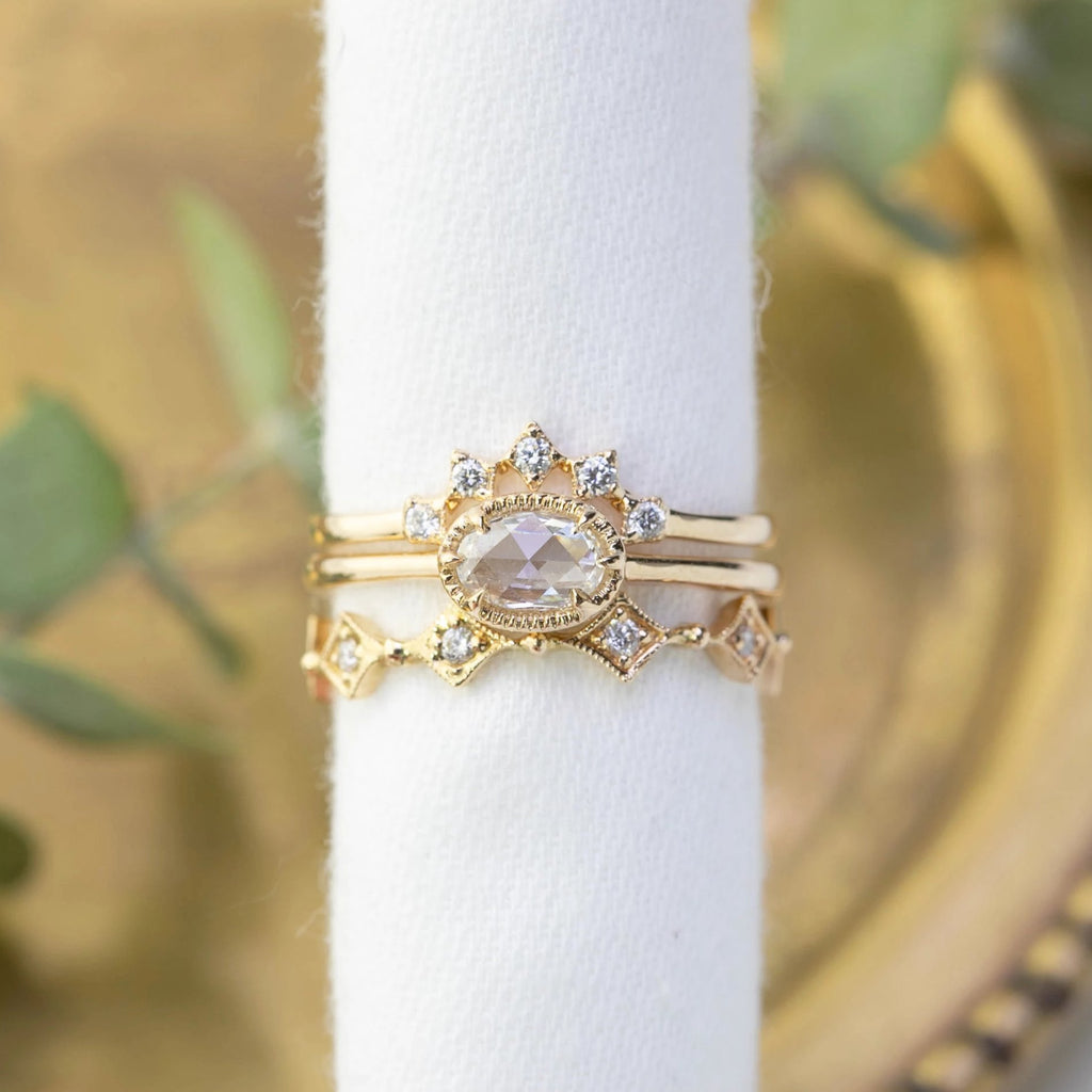 Ava Ring - 0.34ct Rose Cut Diamond (One of a kind)