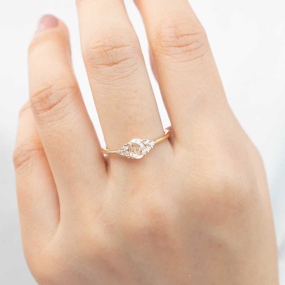 Teresa Ring - 0.33ct Rose Cut Diamond (One of a kind)