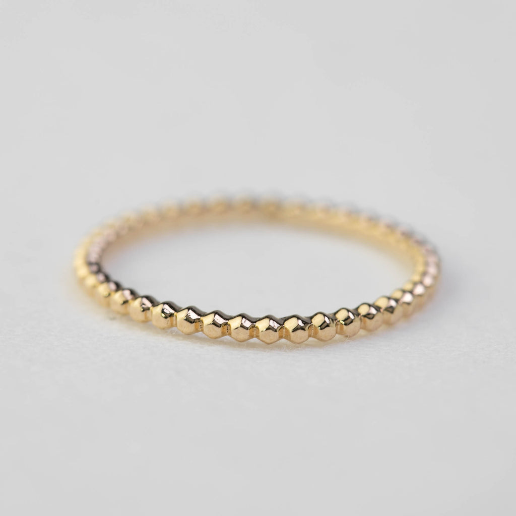 Bead Eternity Ring