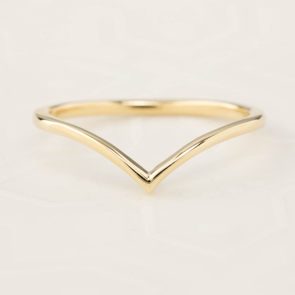 Ivy's Chevron Ring