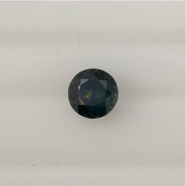1.75ct Round Cut Teal Blue Montana Sapphire