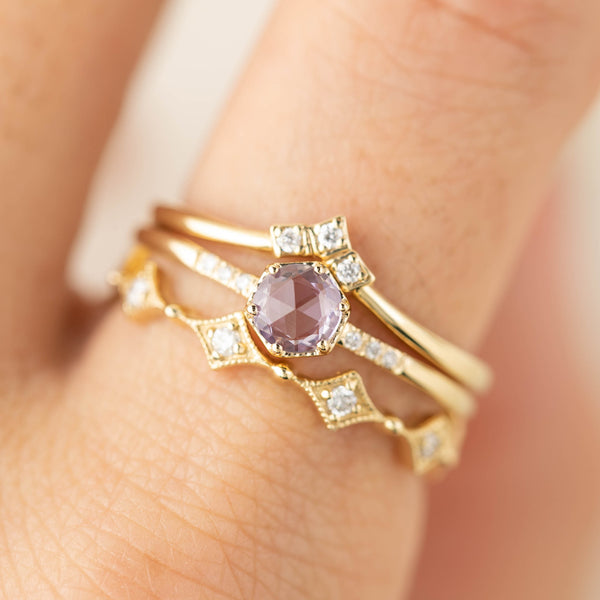 Triple Star Accent Ring