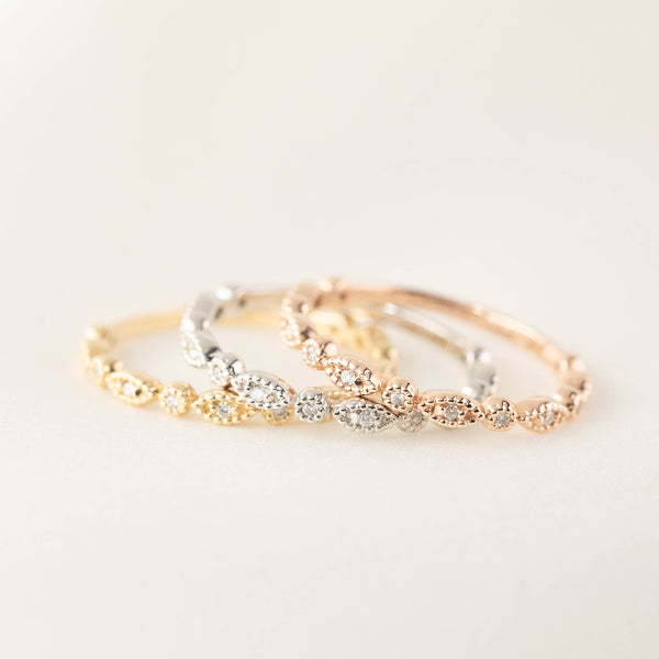 Tia Full/Half Eternity Ring - Small