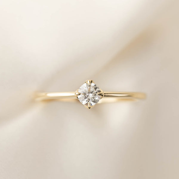 Alice Ring - Brilliant Cut Diamond