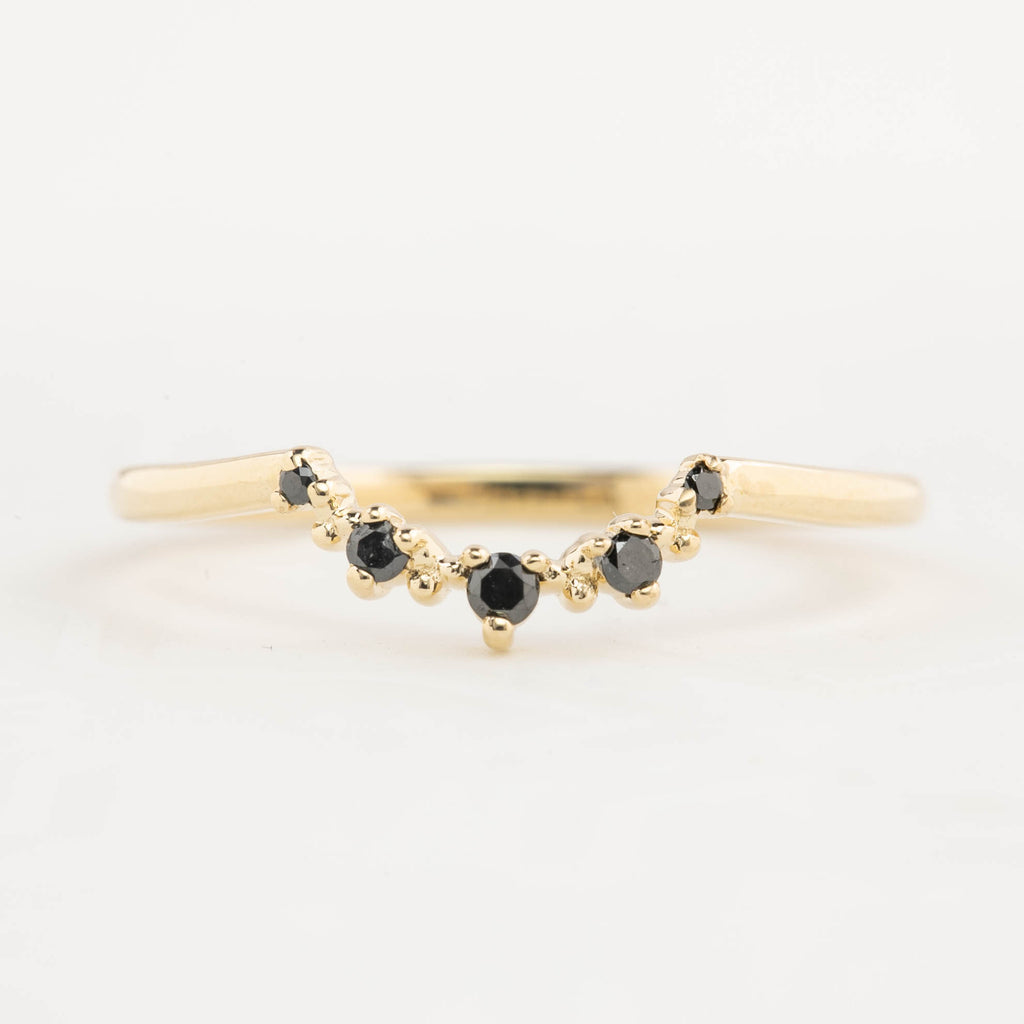 Alice Ring - 0.3ct Australian Dark Blue Sapphire (One of a kind)