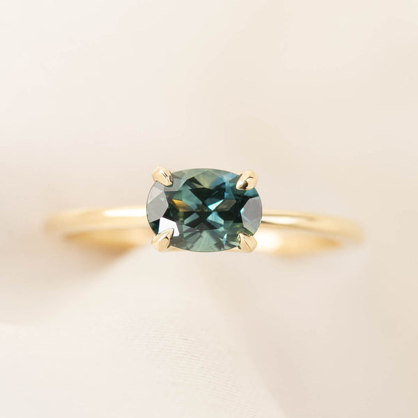 Sara Ring -1ct Queensland Sapphire (One of a kind)