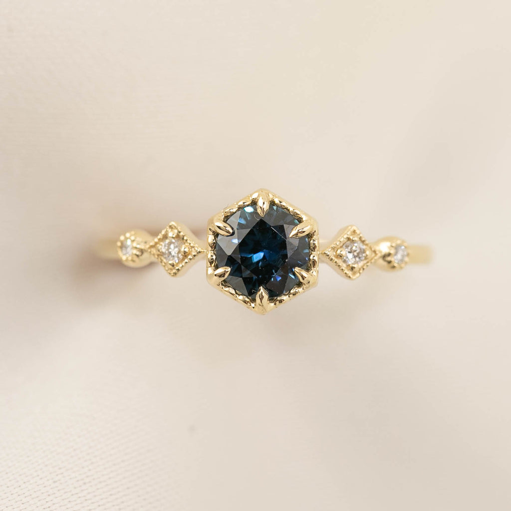 Stella Ring - 0.7ct Queensland Sapphire (One of a kind)