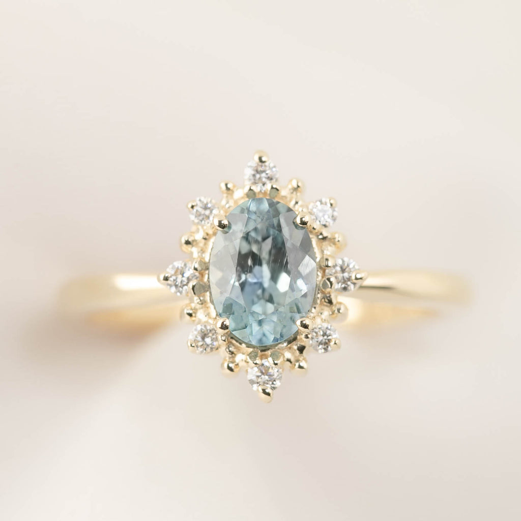 Victoria Ring - 1ct Montan Sapphire (One of a kind)