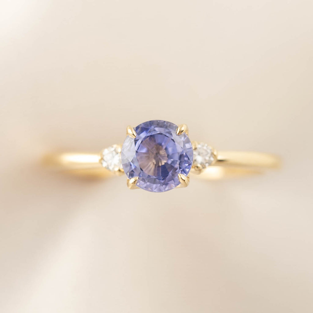 Sofia Ring - 1.13ct Ceylon Blue Sapphire (One of a kind)