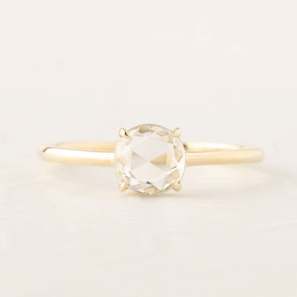 Lisa Ring - 0.88ct White Sapphire (One of a kind)