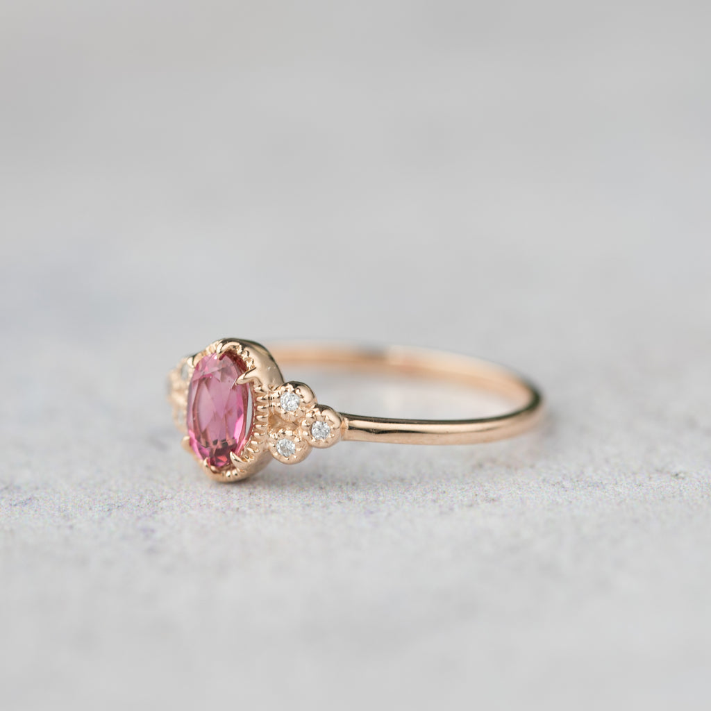 Celine Ring - Pink Tourmaline