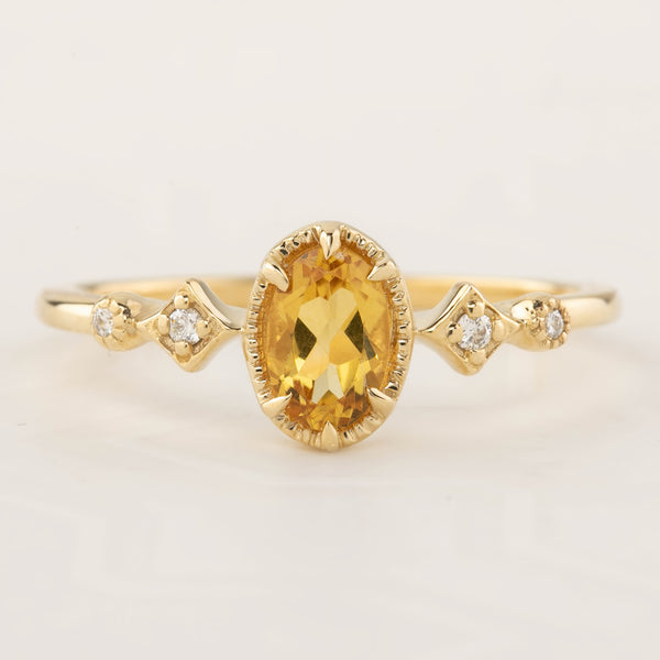 Stella Ring - Citrine