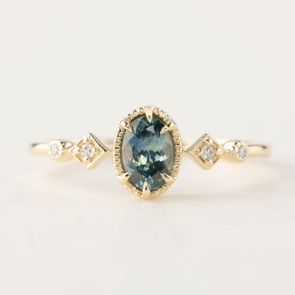 Stella Ring - 0.40ct Montana Sapphire (One of a kind)
