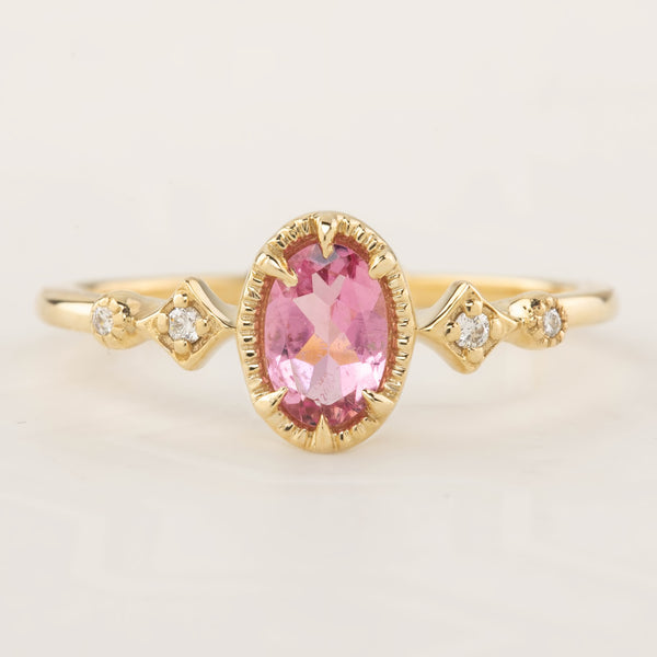 Stella Ring - Pink Tourmaline