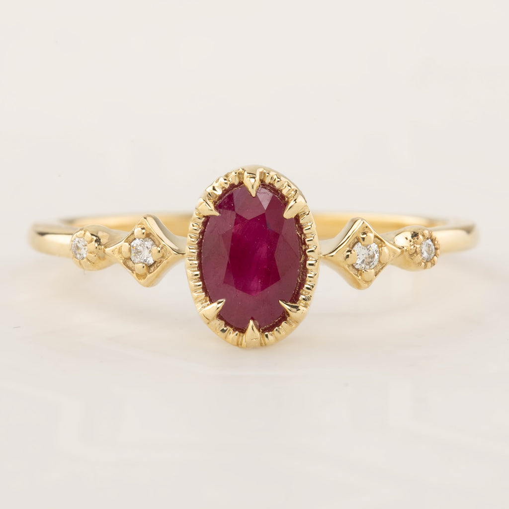 Stella Ring - Ruby